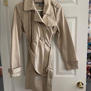 Tan mid length jacket